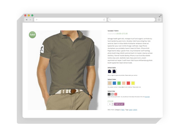 how to add featured images to product categories woocommerce