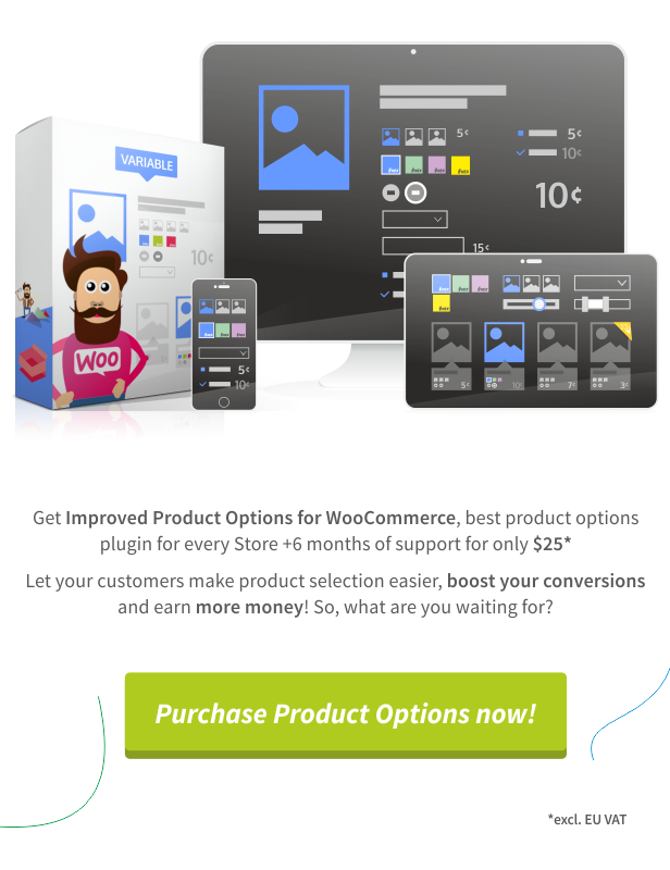 Improved Product Options for WooCommerce - 3